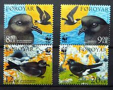 FAROE ISLANDS WWF Birds SG479-782 U/M NB2078
