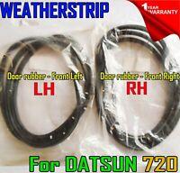 For Nissan Datsun 720 Pickup Ute 80-86 85Weatherstrip LH RH Door Rubber Seal SET