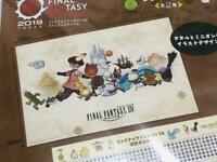 Final Fantasy XIV Tataru picnic sheet  FF XIV Japan 2019 Fun festival limited