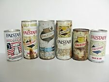 Falstaff Beer Can Collection 6 vintage cans