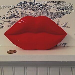NARS Super Limited Edition GUY BOURDIN RED LACQUERED LIP Case/Box SUPER RARE