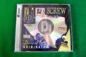 DJ Screw Chapter 329: Big Mello 92 / Botany 93 Texas Rap 2CD NEW Piranha Records