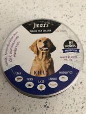 New listing Jmxus Flea and Tick Collar Last 8 Months,fleas,ticks,lices, larvae,mosquitos