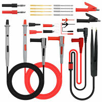 21 in 1 Electrical Multimeter Kit With Alligator Clips Test Lead Test Probe&Plug