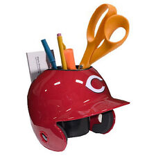 Cincinnati Reds MLB Baseball Schutt Mini Batting Helmet Desk Caddy