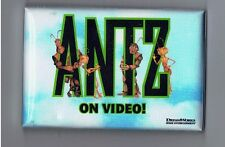 Antz Pinback Button Animated Movie Video DreamWorks Advertising Insect Bugs Ant