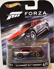 HOT WHEELS RETRO ENTERTAINMENT 2016 FORZA MOTORSPORT 12 CAMARO ZL1 CONCEPT