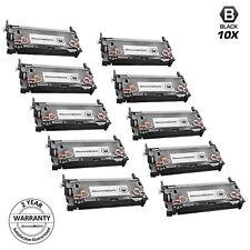 Reman Toner for HP 501A Q6470A 10pk Black Cartridge Printer LaserJet 3800 3800dn