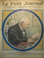 EDOUARD BRANLY SAVANT JUBILé TELEGRAPHIE SANS FIL LE PETIT JOURNAL 1923