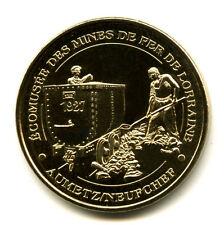 57 NEUFCHEF Mines de fer, Le wagonnet, 2013, Monnaie de Paris