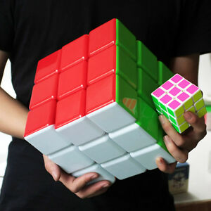 Super Big Stickerless Magic Cube 3x3 18cm Heshu Speed cube 3x3 largest cube Gift
