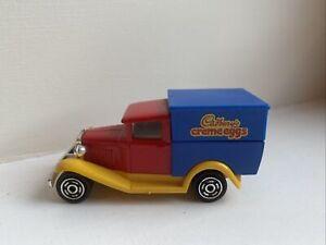 Diecast Vehicle Majorette Ford Model A Fourgon 1/60 No 201 Cadbury's Creme Eggs