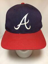 Vintage 1990s Atlanta Braves Hat Snapback Baseball Cap Outdoor Cap Company