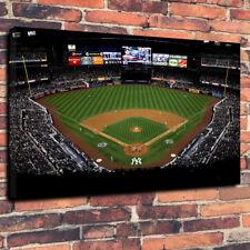 """Nueva York estadio de béisbol Lona Impresa Foto A1.30""""x20""""30mm de profundidad"""