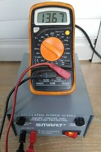 Smart² 22-7100 Regulated Power Supply~240 VAC Input / 13 VDC Output~Tested & VGC