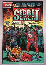 JACK KIRBY'S SECRET CITY SAGA #4~TOPPS~HAND-SIGNED BY GEORGE PEREZ~TOPPS COMICS