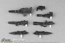 Matrix Workshop M-28 Kit for Power of the Primes Volcanicus 6 guns compose big 1