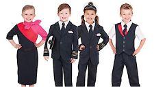 Qantas Male Cabin Crew Uniform Flight Attendant Boys Costume Size 3-5