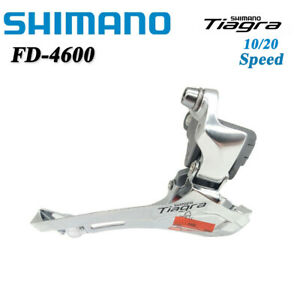 SHIMANO TIAGRA FD-4600 10/20 Speed Road Bike Front Derailleur Clamp-On 31.8mm