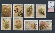 LM83693 Guyana 1986 flowers nature fine lot MNH cv 15,25 EUR