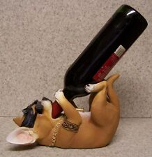 Wine Bottle Holder and/or Decorative Sculpture Dog Homey Chihuahua NEW