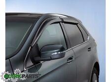 2015 2016 Ford Edge Side Window Deflectors Rain Guards OEM FT4Z18246A