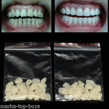 100pcs Temperary Ultra Thin Resin Whitening Dental Veneers for Upper Anterior Te