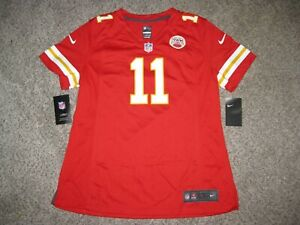 Alex Smith Kansas City Chiefs Womens Large Red Nike Game Jersey