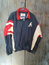 Atlanta Braves Vintage Starter zip Jacket Korea, size Large