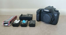 Canon EOS 7D 18.0 MP DSLR Camera Body + 3 Batteries & Charger - ONLY 999 CLICKS!