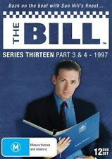 THE BILL - SERIES 13, PART 3 & 4 (12 DVD SET - LIMITED EDITION) NEW!!! SEALED!!!