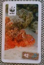 WWF Tierabenteuer Sammelsticker Nr.42 Steinfisch