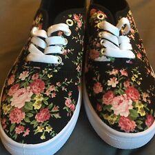 Women's Size 10 Charlotte Russe Black Sneakers-Haven't Been Worn
