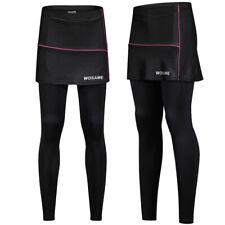 Women Sports Cycling Short Skirt Pants Padded Bike Bicycle 3D Gel Trousers Sport