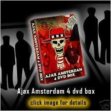 HOOLIGANS,ULTRAS 4 DVD BOX AJAX AMSTERDAM+2 gratis dvds