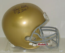 BRIAN KELLY signed Notre Dame FULL SIZE Helmet auto Go Irish!