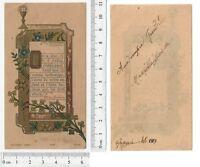 Holy Card - Eucarestia - 1913 Parigi - Bouasse Lebel