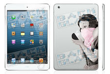 Pink Gangsta Decal for iPad Mini - glossy vinyl sticker