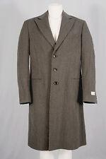NEW Giorgio Armani Collezioni Overcoat!  40 Medium  *Gray-Brown Melange*  *Wool*