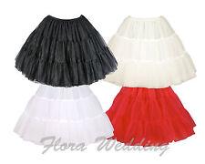 "18""L Fancy Gothic Lolita Tutu Petticoat/50s Retro Net Skirt/Rockabily Underskirt"