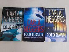 3 CARLA NEGGERS # BLACK FALLS COLD PURSUIT RIVER DAWN pb