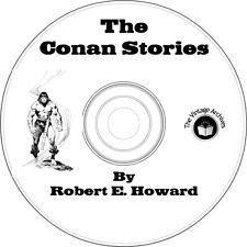 The Conan Stories by Robert E. Howard - 18 Vintage Books on CD