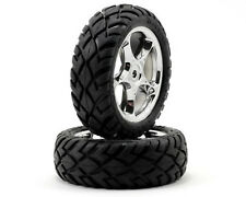 "Traxxas 2479R Tracer Wheel 2.2"" with Anaconda Street Tires Pair Bandit Front"