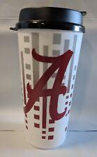 Alabama Game Day Single Wall Travel Cup Tumbler Plastic Mug with Lid 32 oz NEW