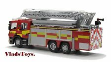 Oxford Fore Brigade 1/76 Scania Aerial Fire & Rescue Pump Strathclyde  76SAL001