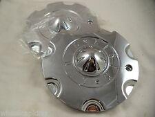 Zinik Wheels Chrome Custom Wheel Center Caps # Z-8 (SET OF 2) W/ BOLTS