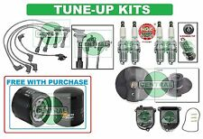 TUNE UP KITS for 94-97 ACCORD DXlx PRELUDE S SPARK PLUG FILTER WIRESET CAP ROTOR