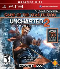 PLAYSTATION 3 PS3 GAME UNCHARTED 2 AMONG THIEVES GOY GAME OF THE YEAR ED NEW