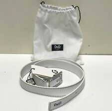 D&G Jr. New Girls Kids Faux Leather & Stitch Belt w Gift Bag Sz: M Rtl: $80 R237