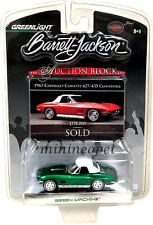 GREENLIGHT BARRETT JACKSON 1967 CHEVROLET CORVETTE 427 1/64 GREEN MACHINE Chase